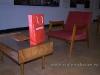 кресло и журнальный столик в гостиной 70 годов