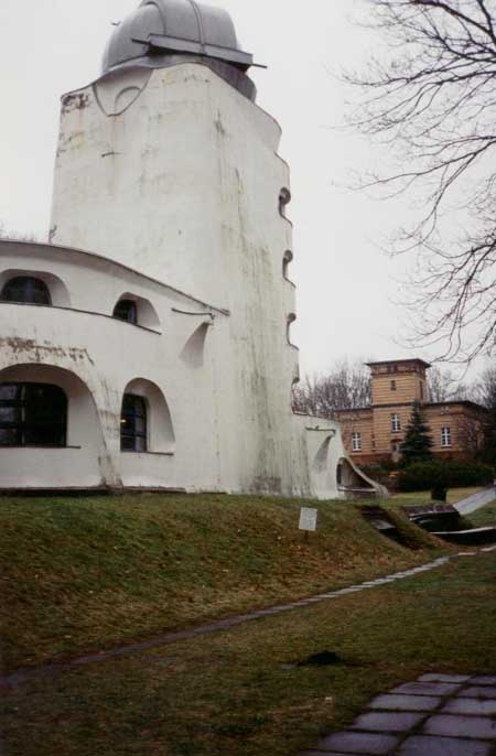 pБашня Эйнштейна в Потсдаме - архитектор Эрих Мендельсон