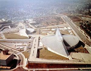 олимпийский центр в Токио - архитектор Кензо Танге