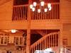 вид второго этажа деревянного дома