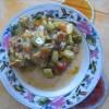 Постная кухня — тушеные кабачки