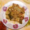 Тушеные кабачки цукини с сельдереем – постное блюдо