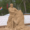 Фестиваль песчаных скульптур, Москва ВДНХ