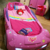 Розовая мебель — гламур в интерьере детской