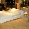 Белая кровать – смелое решение для Вашей спальни