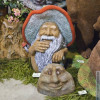Садовые скульптуры из стеклопластика в русском стиле