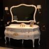 Ванная в стиле барокко – начинаем с умывальника