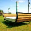 Экологичная кровать качалка