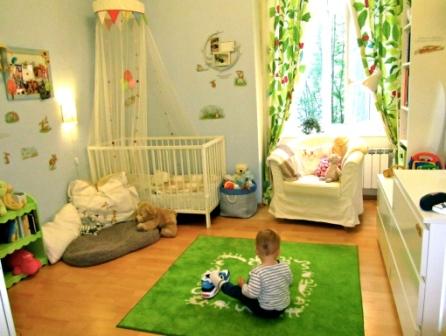 напольные покрытия в детской