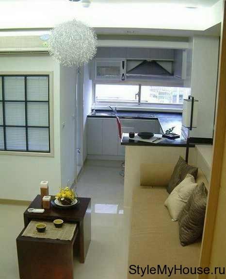 Интерьера однокомнатной квартиры