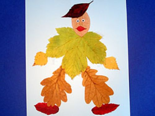 Осенние листья из пластилина. Поделки Pinterest Осенние 45