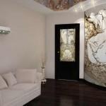 гостевая комната - решение с росписью