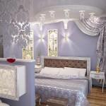 проект спальни в классическом стиле