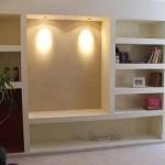 шкаф из гипсокартона своими руками с декоративной подстветкой