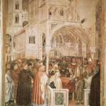 копия фрески художника Altichiero