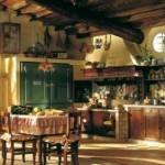 кухня столовая в стиле кантри - Англия, Уэльс