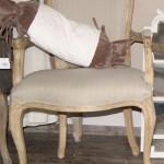 французское кресло в стиле кантри - влияние Прованса