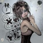 Красный ей к лицу - художник Стейси Мур