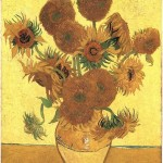 Still Life Vase with Fifteen Sunflowers Painting -Винсент ван Гог