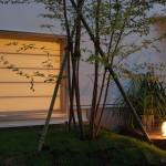 участок пред домом в Японии