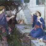 фреска с ангелом