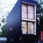 узкий дом в японском стиле