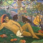 Королева (жена короля) - Поль Гоген