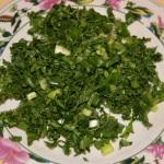 зелень для готовой солянки