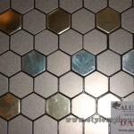 мозаика из алюминия