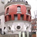 Дом в форме яйца в Москве