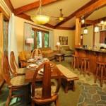 кухня в деревенском американском доме