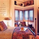 спальня в стиле американского кантри