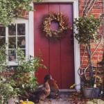 деревенский стиль - входная дверь