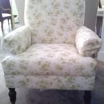 кресло в стиле shabby chic
