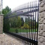 забор из решетки