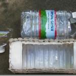 мини клумба из 5 литровой пластиковой бутылки