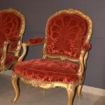 классическое кресло барокко