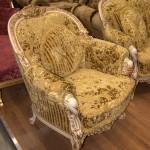 золотое кресло - неорококо