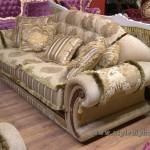 диван в смешанном стиле неорококо и модерн