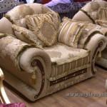 кресло - смесь стилей неорококо и модерн