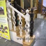 деревянное лестничное ограждение