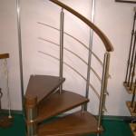ограждение для витой лестницы