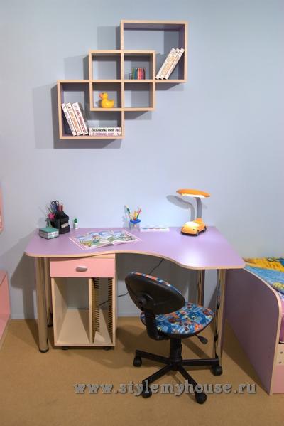 Мебель для детской комнаты - небольшой обзор.