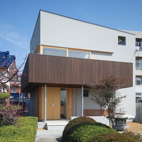 Residence in Kamikawaraya - японский коттедж