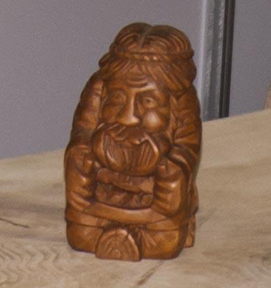 русские деревянные фигурки