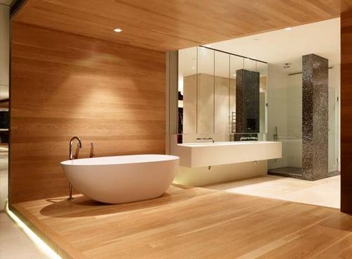 квартира свободной планировки - ванная