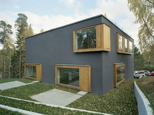 Дачный дом 6 на 6 одноэтажный с террасой