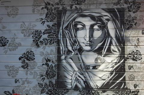 религиозный street-art