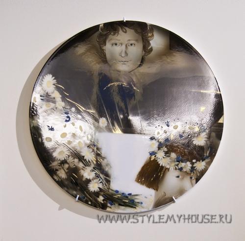 интерьерная тарелка панно