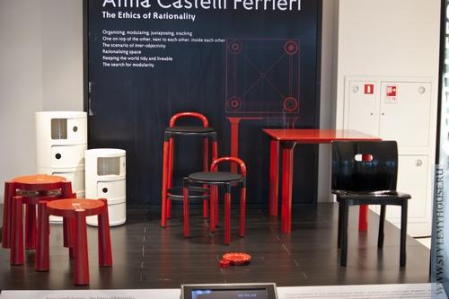 пластиковая мебель марки Kartell - дизайнер Анна Кастелли